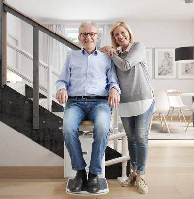 Montascale per anziani disabili e invalidi montascale for Boccato montascale